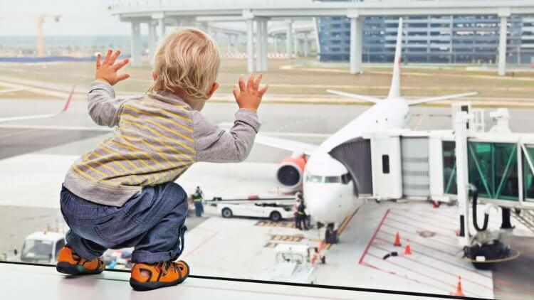 Airline travel with baby is no joke, but totally do-able. Learn my tips for traveling with your baby to make the trip enjoyable and fuss free for everyone.