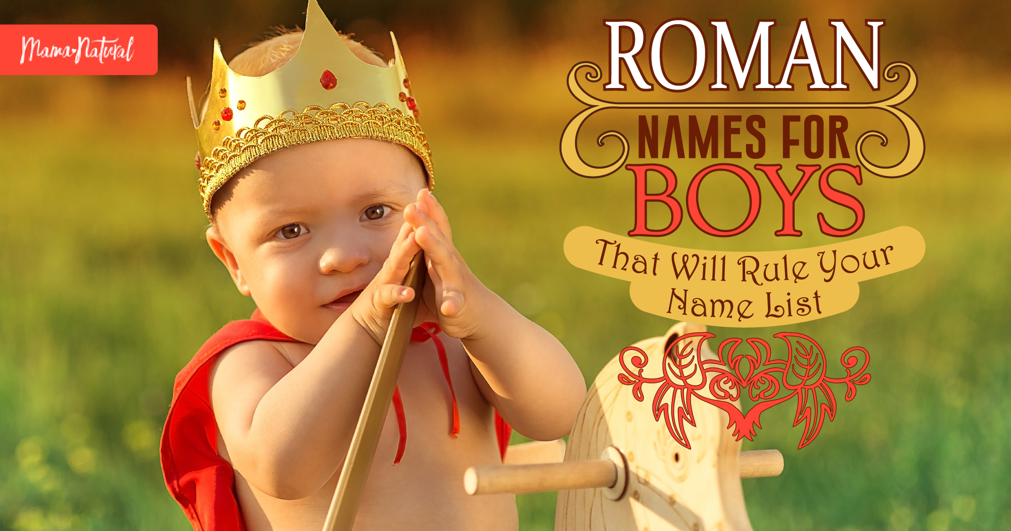 Roman Names for Boys That Will Rule Your Name List | Mama ...
