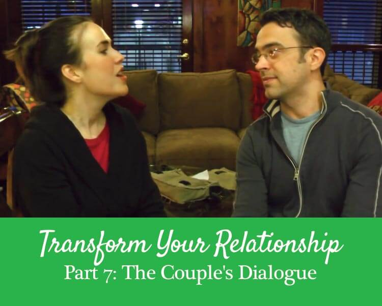 Getting the Love You Want, Harville Hendrix, the couples dialogue example