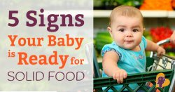 Most babies start to eat when they're around six months old. But how can you be sure that they're ready? Find out in this post!