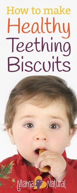 How To Make Healthy Teething Biscuits Mama Natural