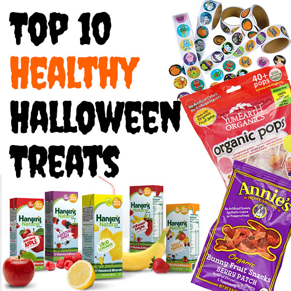 Top 10 #Healthy #Halloween treats from http://MamaNatural.com