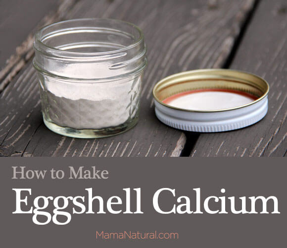 Photo of homemade eggshell calcium DIY project
