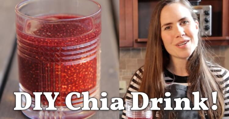 They're super popular. Super delicious. And super EXPENSIVE! Bottled chia drinks can cost $4.00! Here's how to make your own for a fraction of the cost.