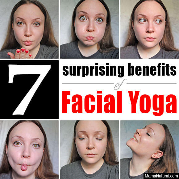 Does your  face needs exercise? Find out how facial yoga can help to keep you looking young and the many other surprising benefits of this unusual workout!
