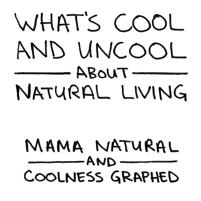 What's Cool and Uncool About #Natural Living - funny stuff at http://MamaNatural.com