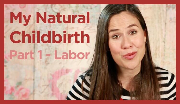 My natural childbirth, part 1, labor, baby birth video by Genevieve Mama Natural