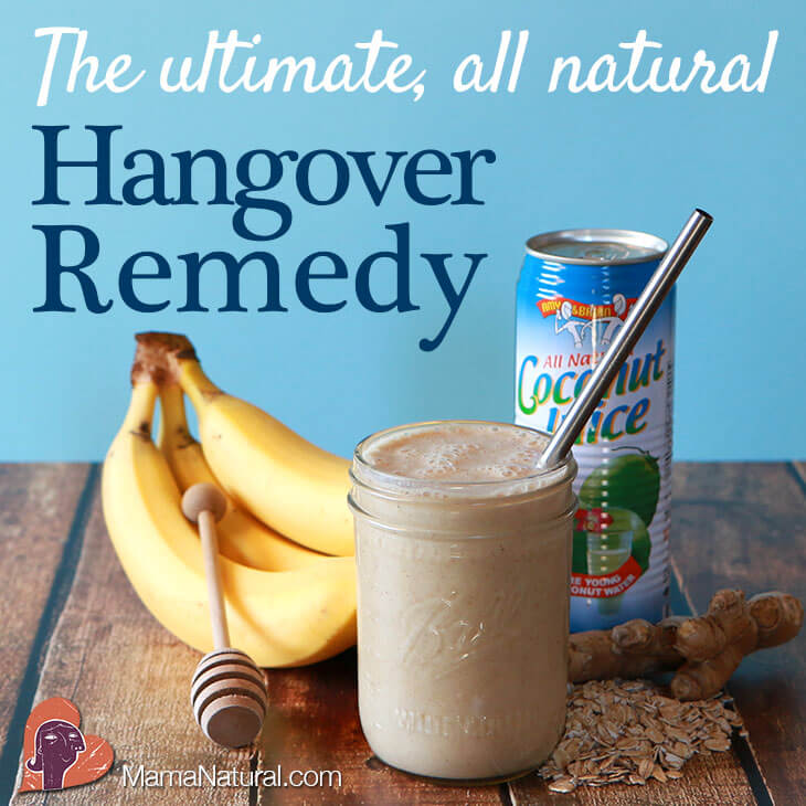 Natural Cure For Wine Hangover