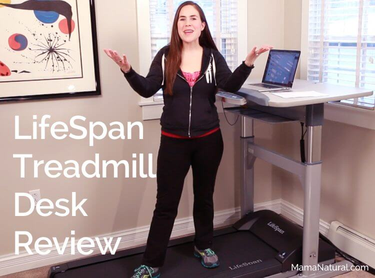 LifeSpan Treadmill Desk Review by http://MamaNatural.com