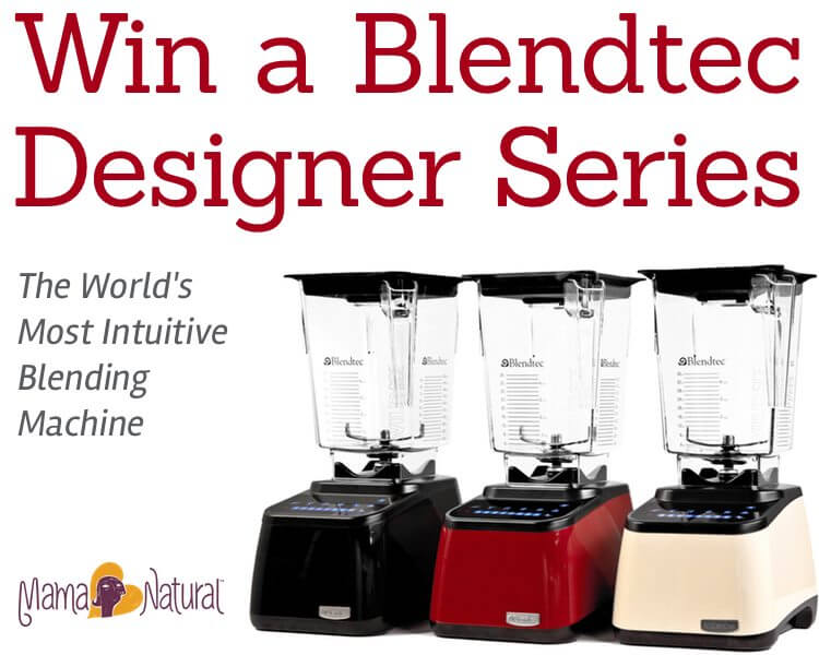Win a Blendtec Designer Series blender!