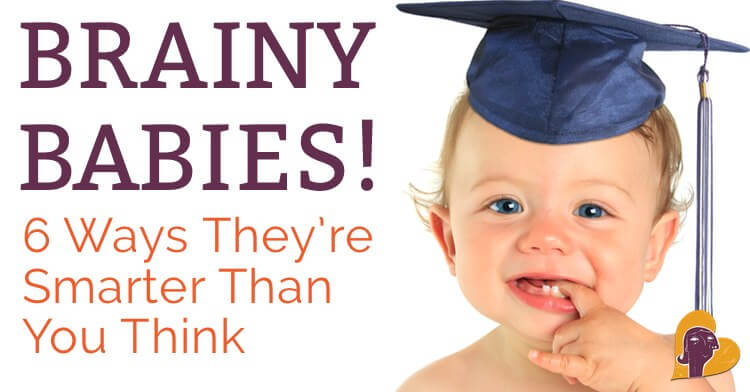 What a smart baby! Ever look into your baby's eyes and wonder what's going on upstairs? Well, it may be more than you think. Find out in this post.