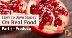 It's not easy to save money on organic, local produce. But it IS possible! Here's how my family buys (mostly) organic produce on a budget.