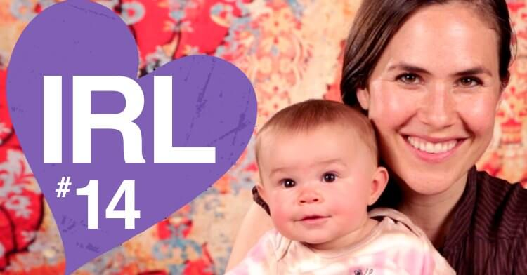 Paloma is 6 months old today! And give me 2 words to describe your LO. It's In Real Life episode 14!