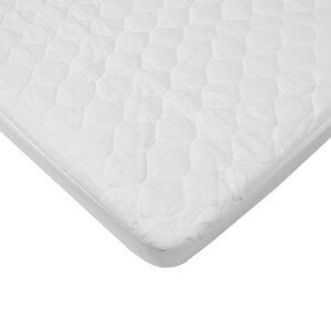 American Baby Company Organic Waterproof Quilted Crib and Toddler Pad Cover