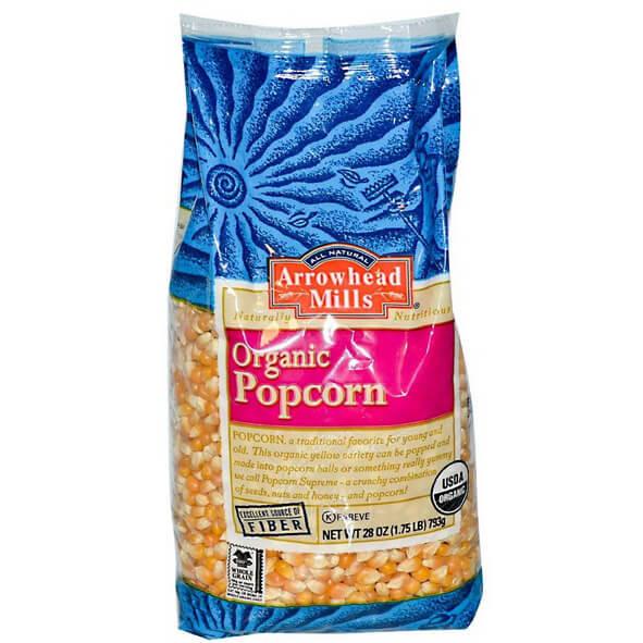 Arrowhead Mills Organic Popcorn 28 oz