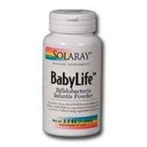 BabyLife (Bifidobacterium 3 Billion Potency) Solaray 2.5 oz Powder