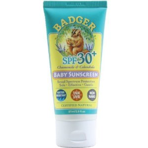 Badger Baby Sunscreen SPF 30 Certified Natural