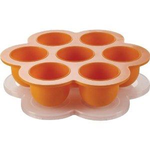 Beaba Multiportion Freezer Tray-Orange