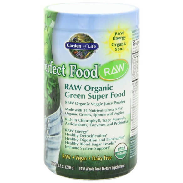 Garden of Life - Perfect Food RAW Organic Green Super Food