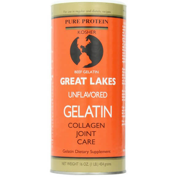 Great Lakes Unflavored Gelatin, Kosher, 16 Ounce Can