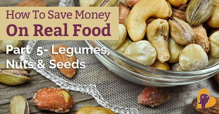 Nuts, seeds, and legumes are a great addition to a healthy and frugal diet. This post will help you save money on healthy foods just like these.