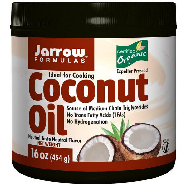 Jarrow Formulas Coconut Oil 16 oz