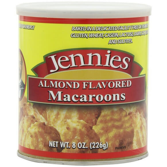 Jennie's Macaroon Almond Flavored, Dairy And Gluten Free, 8-Ounce Cans (Pack of 6)