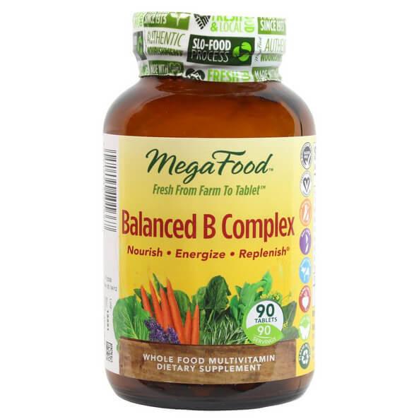 MegaFood - DailyFoods Balanced B Complex