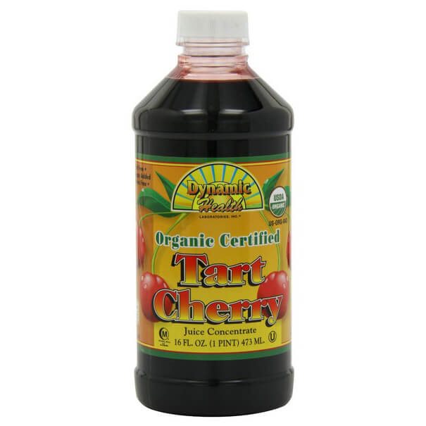 Organic Tart Cherry Juice Concentrate 32 Ounces