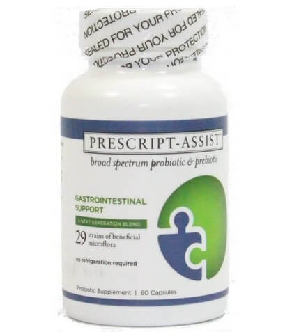 Prescript-Assist Broad Spectrum Probiotic Prebiotic Complex 60 Capsules