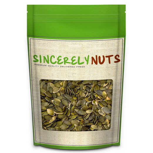 Pumpkin Seed Kernels RAW - 2 Pound Deal
