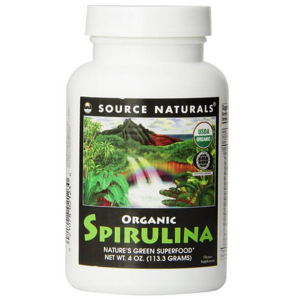 Source Naturals Organic Spirulina Powder, 4 Ounce