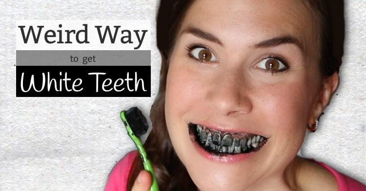 Whiten your teeth with activated charcoal?!? It's weird, but it works!