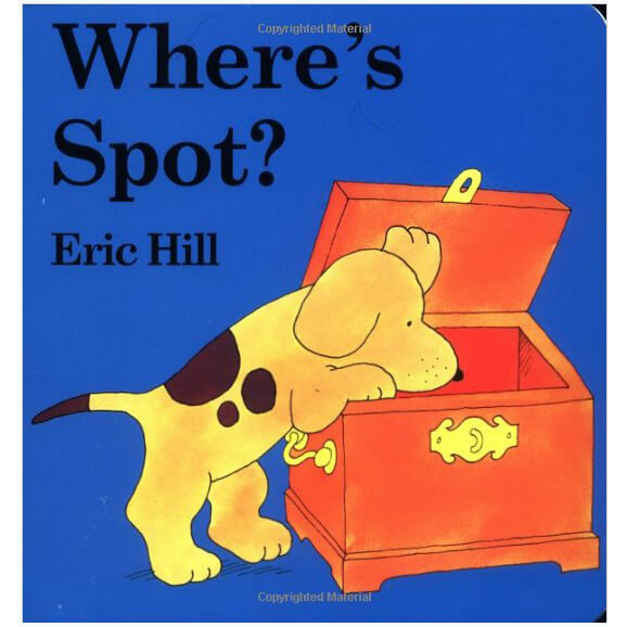 Where's Spot (Little Spot Board Book)