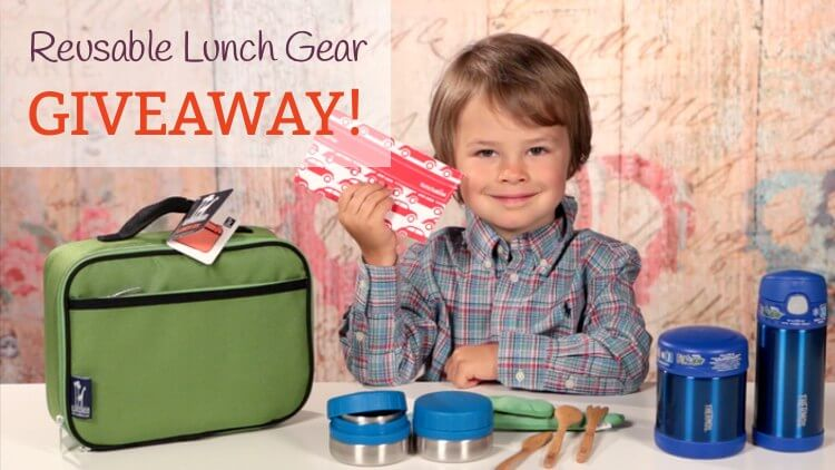 Giveaway! Win over $100 in reusable lunch gear via MightyNest and Mama Natural.
