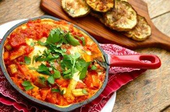 Shakshukah recipe for when you've got too many tomatoes