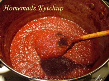 homemade ketchup recipe for when you've got too many tomatoes
