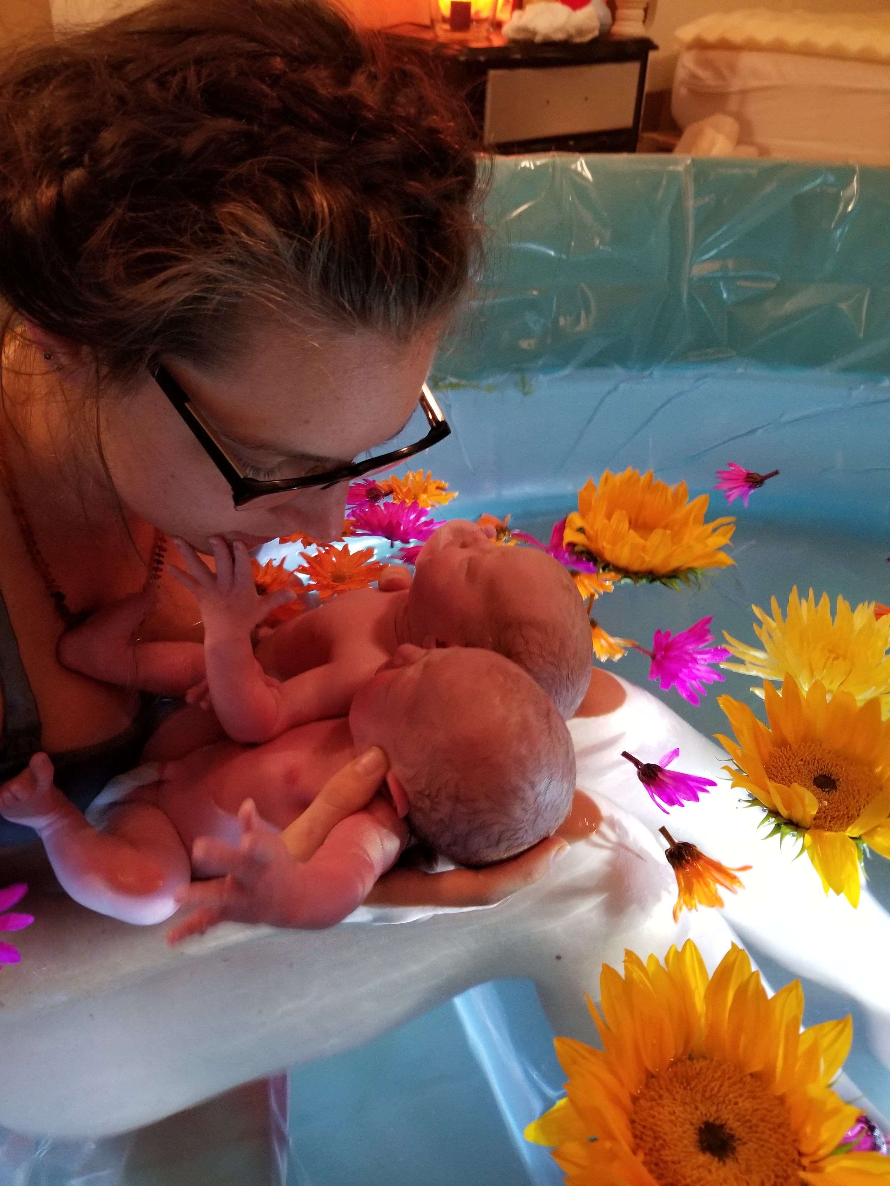 Finding A Midwife Helped Alina Achieve A Natural Home Twin