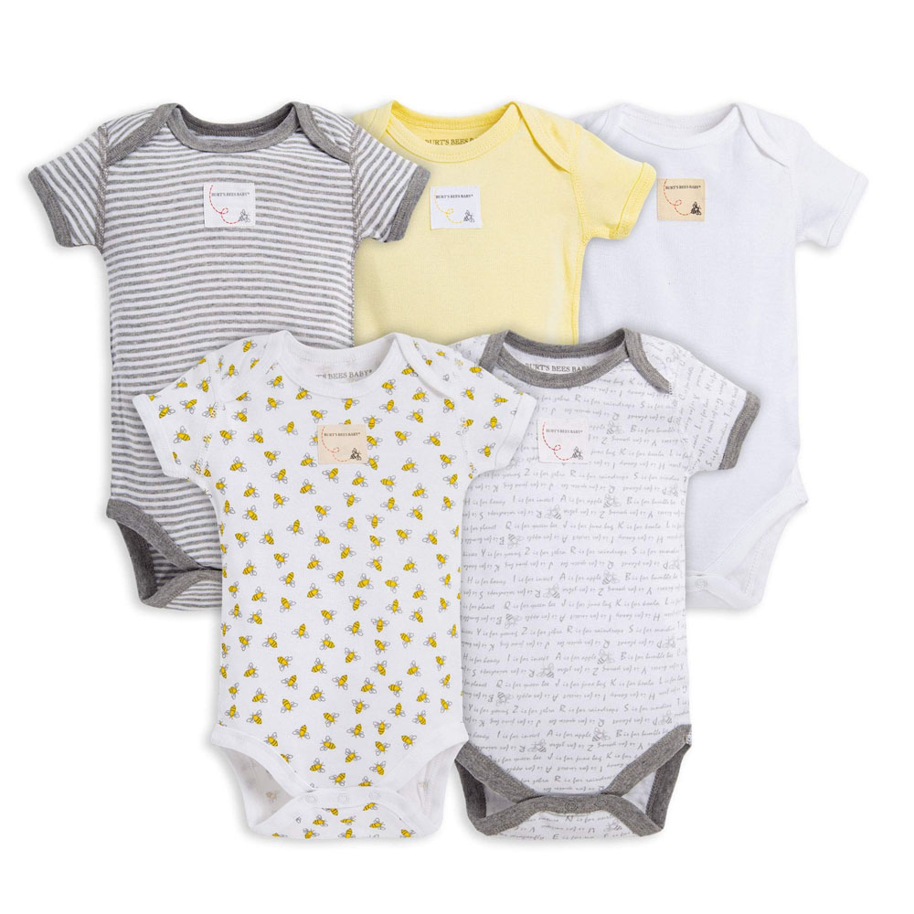 5-Pack Unisex Bundle of Onesies