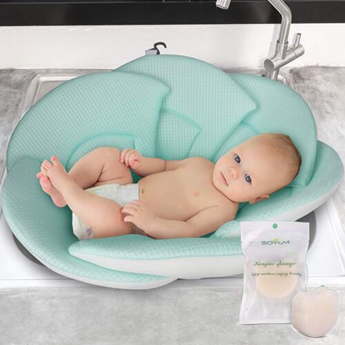 Baby Bath + Konjac Sponge Kit