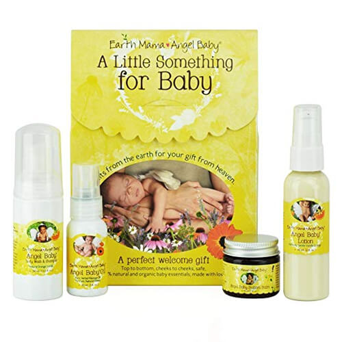 Earth Mama A Little Something For Baby Gift Set