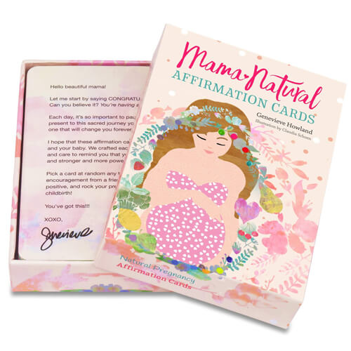 Mama Natural Affirmation Cards