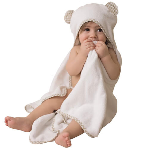 Organic Bamboo Baby Towel with Hood