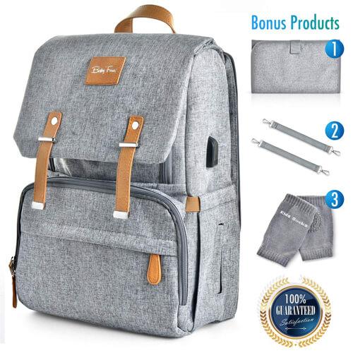 Organic Diaper Bag Backpack