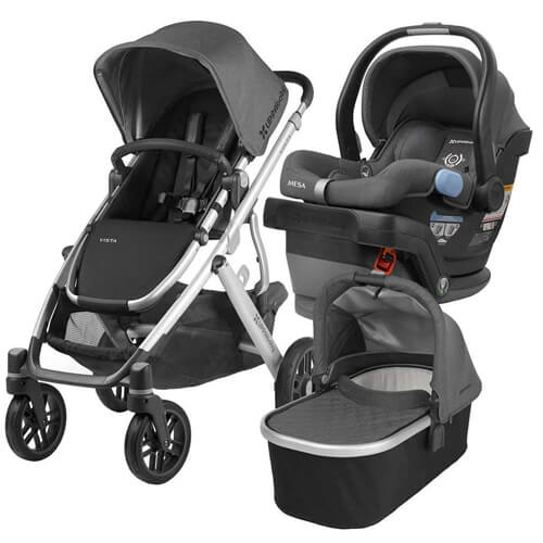 UppaBaby Carseat, Infant Seat, and Bassinet Bundle