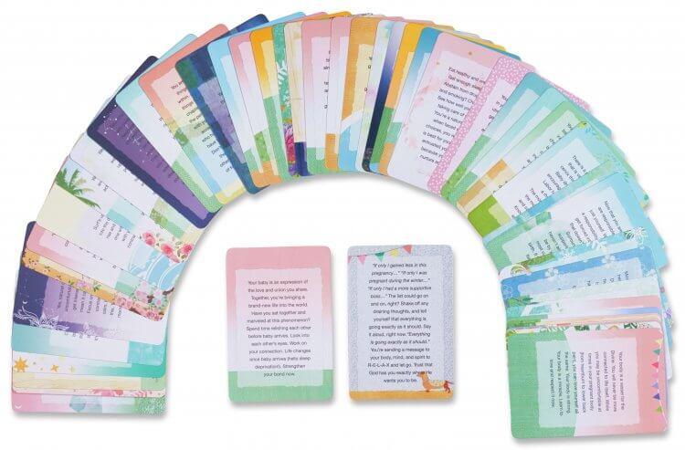 Natural Pregnancy Affirmation Cards