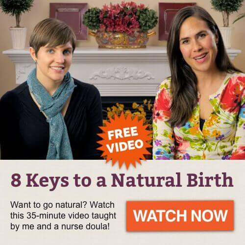 8 Keys to a Natural Childbirth free video