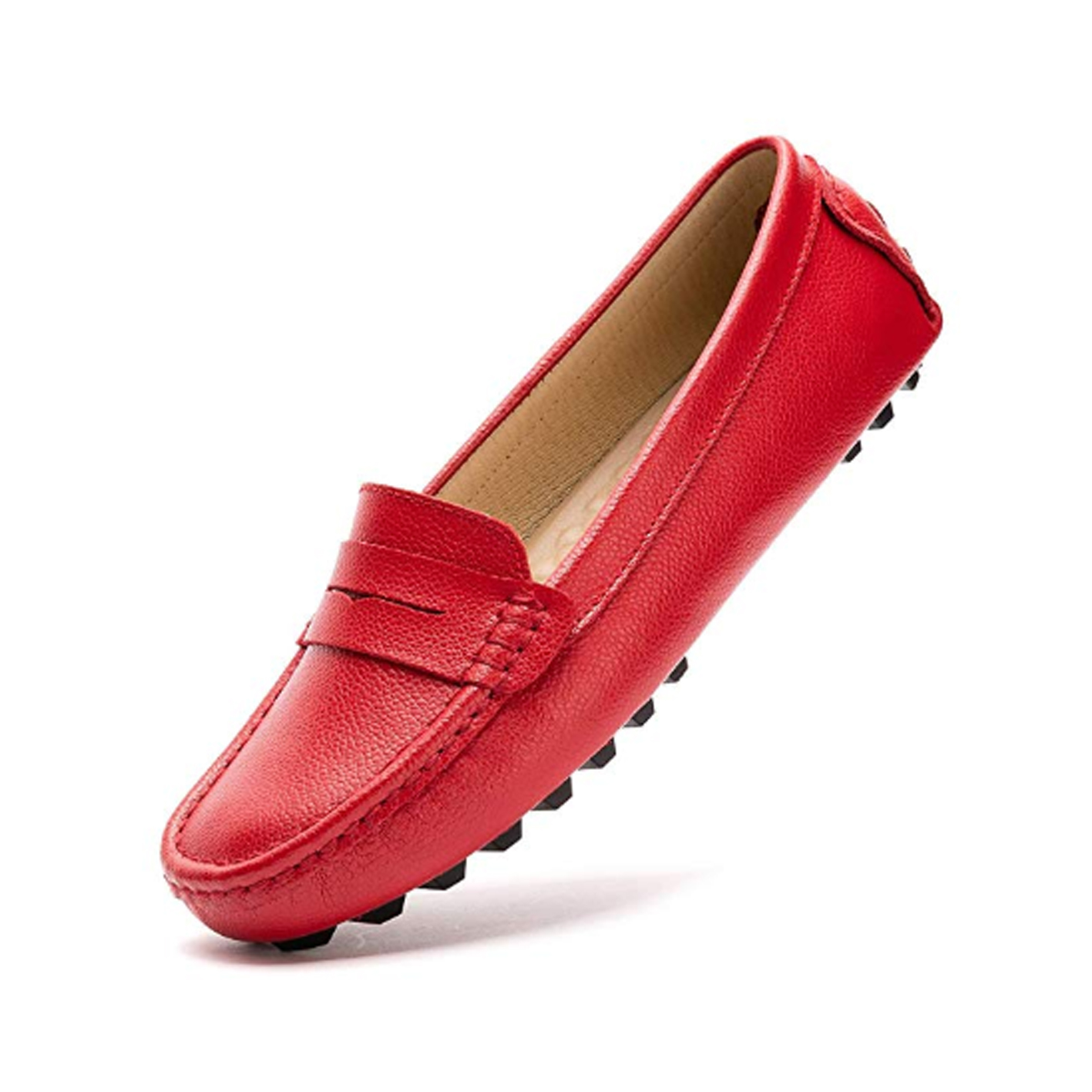 Artisure Women's Classic Genuine Leather Penny Loafers - Minimalist shoes that look good post by Mama Natural