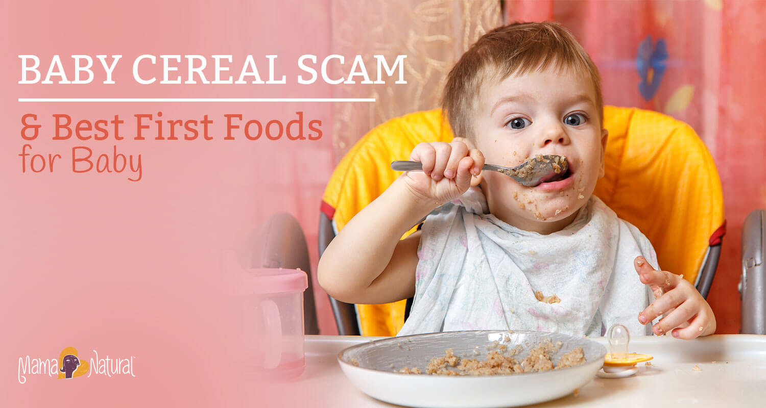The Truth About Baby Cereal (And What to Feed Instead)