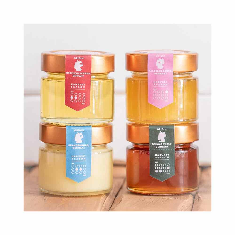 Bee Seasonal Honey Varietals